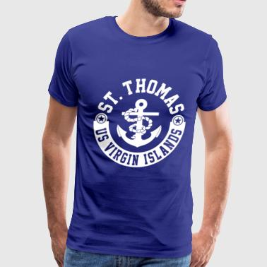 St. Thomas - Men's Premium T-Shirt