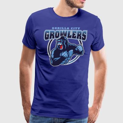 Gorilla City Growlers - Men's Premium T-Shirt