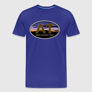 Appalachian Trail AT Trail Sunset - Men's Premium T-Shirt