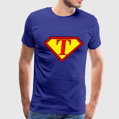 Superman personalized Design shirt - Men's Premium T-Shirt