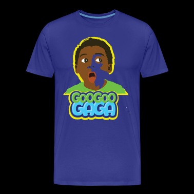 Goo Goo Gaga Face - Men's Premium T-Shirt