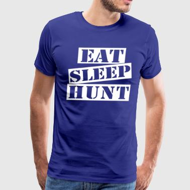 Eat Sleep Hunt - Men's Premium T-Shirt
