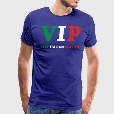 Italy Love Funny Cool Gift VIP Very Italian Person - Men's Premium T-Shirt