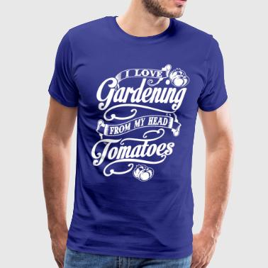 Love Gardening Tomatoes - Men's Premium T-Shirt