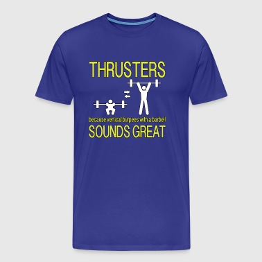 Thrusters - Yellow - Men's Premium T-Shirt