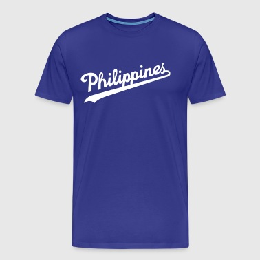 Philippines Script Design by AiReal Apparel - Men's Premium T-Shirt