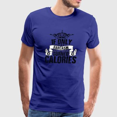 Funny Sarcasm Losing Weight Diet T-Shirt - Men's Premium T-Shirt