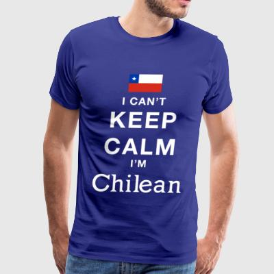 Keep calm Chilean - Men's Premium T-Shirt