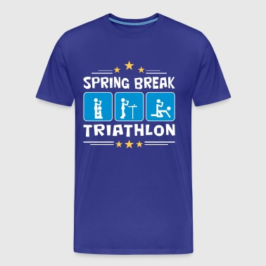 spring break triathlon - Men's Premium T-Shirt