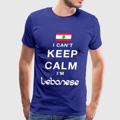 Keep calm lebanese - Men's Premium T-Shirt