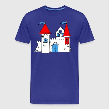 Medieval Castle - Men's Premium T-Shirt