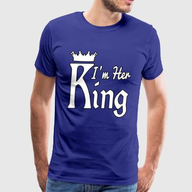 i'm Her King - Men's Premium T-Shirt