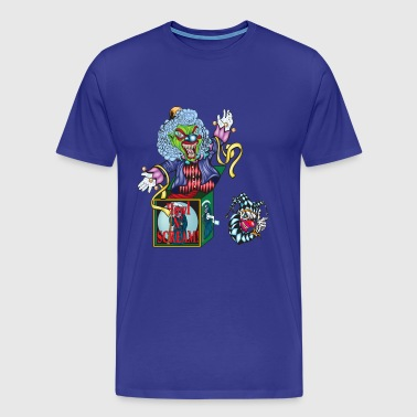 Evil Clown Jack in the Box - Men's Premium T-Shirt