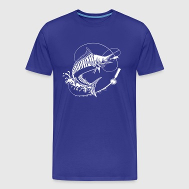 Marlin Fishing - Men's Premium T-Shirt