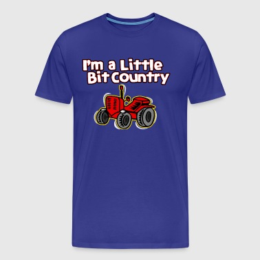 I'm A Little Bit Country - Men's Premium T-Shirt
