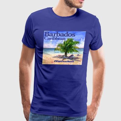 Barbados Beach - Men's Premium T-Shirt