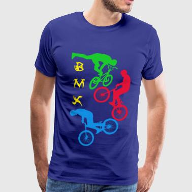 BMX,cycling,bike,bmx, - Men's Premium T-Shirt