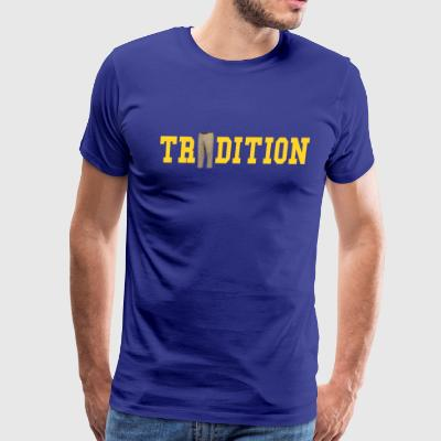 Michigan Football Shirt - Jim Harbaugh T Shirt - Men's Premium T-Shirt