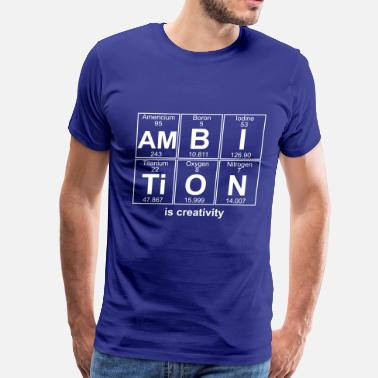 I-am-n Am-B-I-Ti-O-N (ambition) - Full - Men's Premium T-Shirt