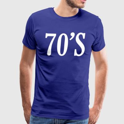 70s Era Time Century - Men's Premium T-Shirt