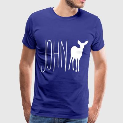 John Doe - Men's Premium T-Shirt