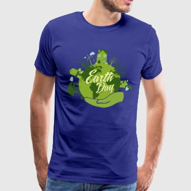 Earth Day Recycling - Men's Premium T-Shirt