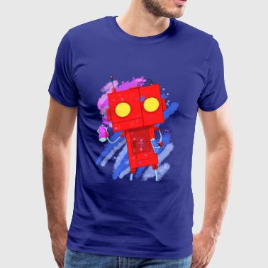 Art Robot - Men's Premium T-Shirt