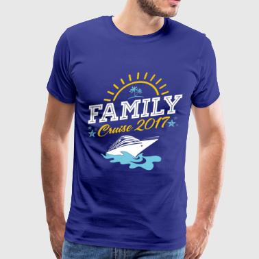 Family Cruise Vacation 2017 - Men's Premium T-Shirt