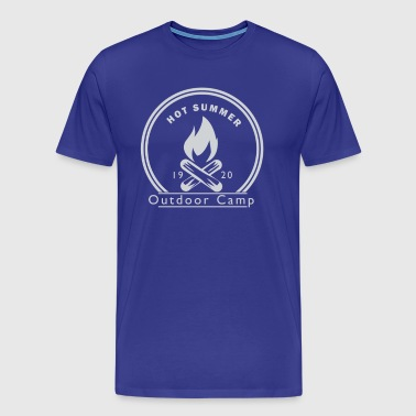 Outdoor Camp - Men's Premium T-Shirt