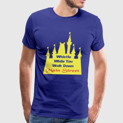 Whistle While Walk! - Men's Premium T-Shirt