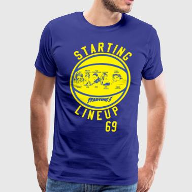 STARTING LINEUP STARTING 5 M V P EVERYONE JOCKS HE - Men's Premium T-Shirt