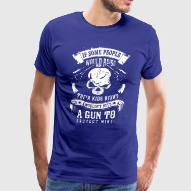 A Gun To Protect Mine T-shirt - Men's Premium T-Shirt