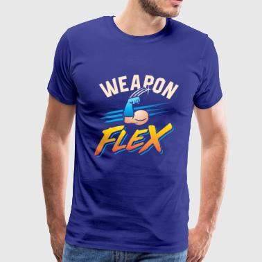 Weapon Flex - Men's Premium T-Shirt