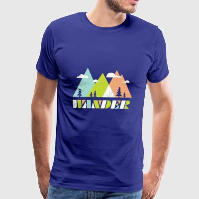 WANDER - Men's Premium T-Shirt