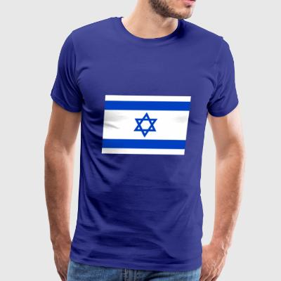 Israel country flag love my land patriot - Men's Premium T-Shirt