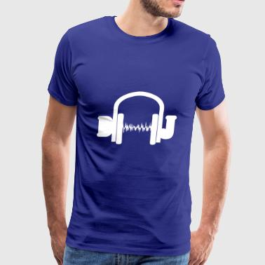 dj wite - Men's Premium T-Shirt
