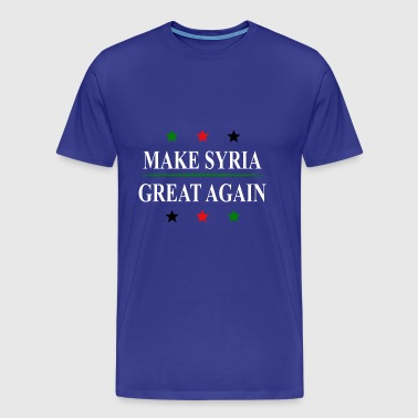 Make Syria Great Again - Men's Premium T-Shirt