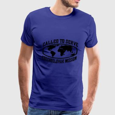 Czechoslovak Mission - LDS Mission CTSW - Men's Premium T-Shirt