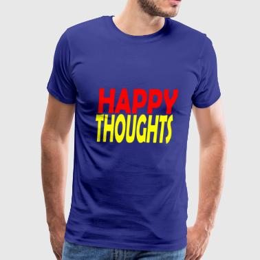 happy thoughts - Men's Premium T-Shirt