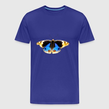schmetterling butterfly flowers blumen - Men's Premium T-Shirt
