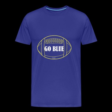 Go Blue - Men's Premium T-Shirt