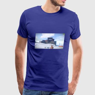 When you get raided in Rust - Men's Premium T-Shirt