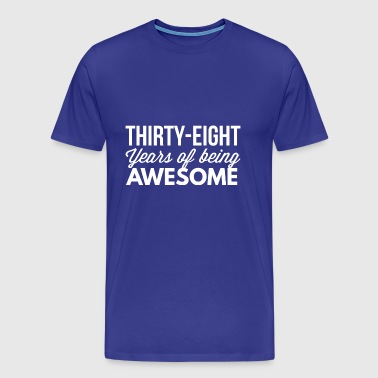 38 years of being awesome - Men's Premium T-Shirt