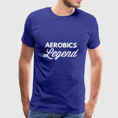 Aerobics Legend - Men's Premium T-Shirt