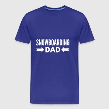 Snowboarding Dad - Men's Premium T-Shirt