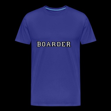 boarder - Men's Premium T-Shirt
