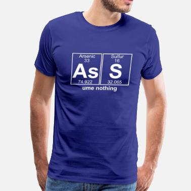 Big Ass S & As-S (ass) - Full - Men's Premium T-Shirt