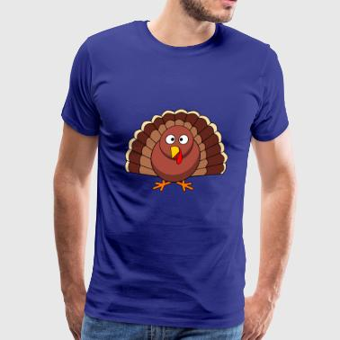 turkey thanksgiving - Men's Premium T-Shirt