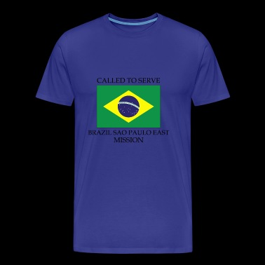 Brazil Sao Paulo East LDS Mission Called to Serv - Men's Premium T-Shirt