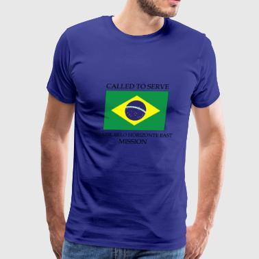 Brazil Belo Horizonte East LDS Mission Called to - Men's Premium T-Shirt